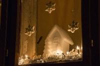 Weihnachtsbeleuchtung in der Mitterau