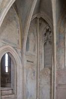 Göttweigerhofkapelle - Kapellenraum - Apsis und Aufgang zum Oratorium