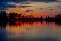 Sunset - Rudmannser Teich