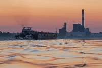 Sunrise - Kraftwerk Theiß