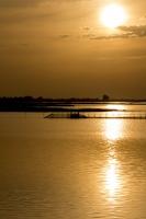 Sunset - Ca'Ballarin (Lagune von Venedig, Italien)