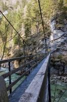 Hängebrücke über die Erlauf