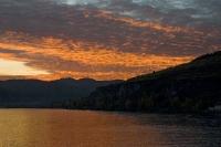 Sonnenuntertgang über der Wachau
